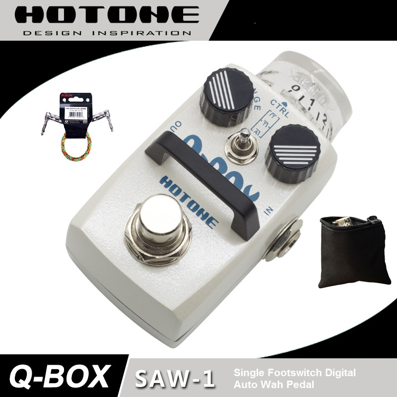 Hotone SAW-1 Q-Box Digital Envelope Filter with Free Pedal Case and MoreHotone SAW-1 Q-Box Digital Envelope Filter with Free Pedal Case and More