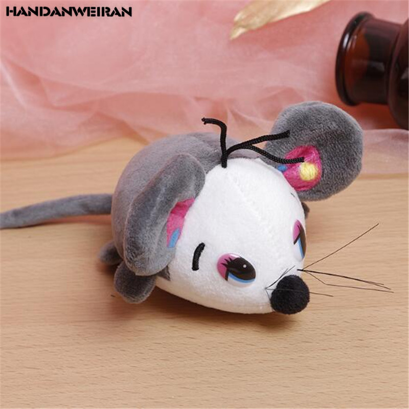 1PCS Mini Plush Mouse Toys Small Pendant Cartoon Cute Mice Soft Stuffed Toy Family Friend Gift For Kids Hot 10CM HANDANWEIRAN in Stuffed Plush Animals from Toys Hobbies