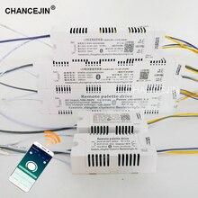 RF 2.4G التحكم عن بعد LED سائق محول الإضاءة يمكن السيطرة عليها من قبل التطبيق ، 40 60 واط المدخلات: AC180 260V الإخراج: DC120 205V 260mA