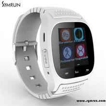 Symrun Wasserdichte Smartwatch M26 Bluetooth Smart Uhr Mit Led Alitmeter Musik-player Schrittzähler Verbesserte M26