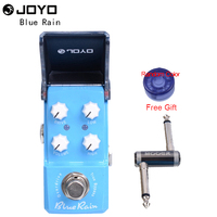 New Joyo Ironman Series JF 311 Blue Rain Overdrive Mini Smart Effect Pedal with One MOOER PC Z Pedal Connector and One Cover Cap