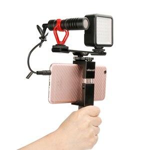 Image 2 - Ulanzi PT 2三脚デュアルマウントコールド靴プレート延長の場合マイク/ledビデオライト、電話vloggingリグセットアップ