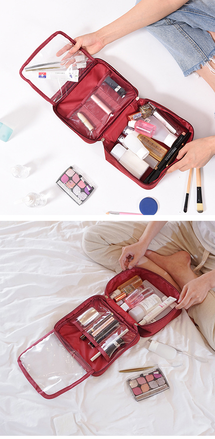 Mihawk Large Capacity Cosmetic Women Bag 11