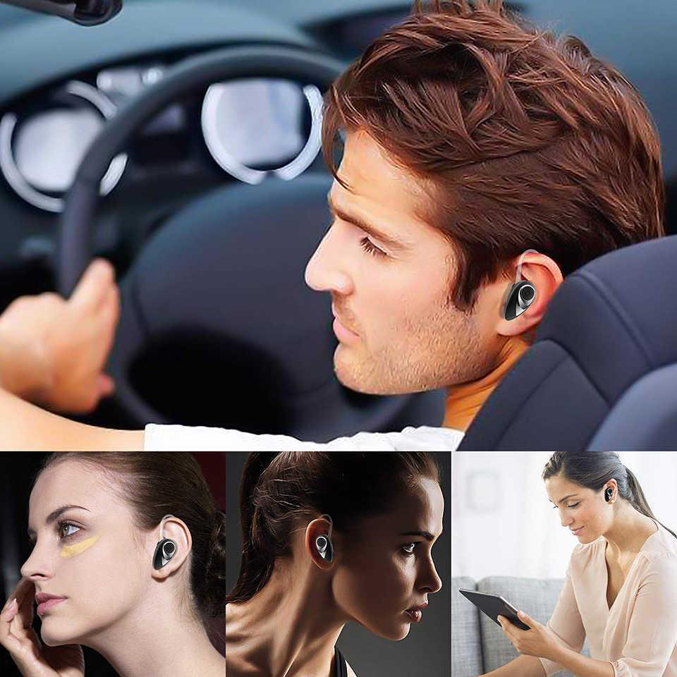 KUNXI спортивные bluetooth-наушники, мини деловые наушники, спортивные наушники для телефона, вкладыши, беспроводные наушники с микрофоном, 8 H