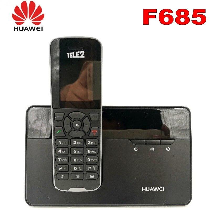 500 шт./лот беспроводной телефон и гарнитура для Huawei F685 DECT настольный домашний телефон со слотом для Sim-карты