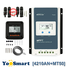 New Arrival MPPT 30A Solar Charge Controller 12V 24V LCD Diaplay EPEVER TRACER Solar Charge Regulator EPsloar 3210A tracer2606bp new bp series mppt epever solar controller charging regulator for lithium battery apply use 10a 10amp