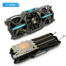 цена на New Original for ZOTAC GTX1080 GTX1070Ti GTX1070 PGF Graphics card cooler fan with heat sink