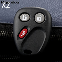 2Pcs 3 Buttons Remote Car Key Fob Shell LHJ011 For G M Hummer H2 Chevrolet Avalanche Tahoe Cadillac Escalade 2003 2004 2005 2006