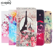 Fashion Flip PU Leather And Soft Silicone Case For Apple iPhone SE Case Wallet Stand Cover for iPhone SE Coque Fundas Capa Etui