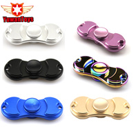 Fidget Spinner Finger ABS EDC Hand Spinner Tri For Kids Autism ADHD 6 Colour Anxiety Stress