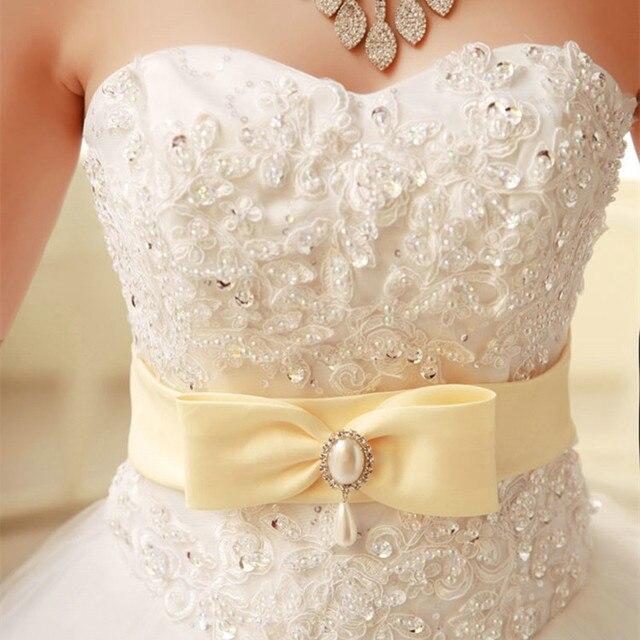 Бесплатная доставка 2015 новый белый принцесса свадебное платье дизайнер remantic узелок свадебное платье невесты платья Свадебные Платья Novia Y326
