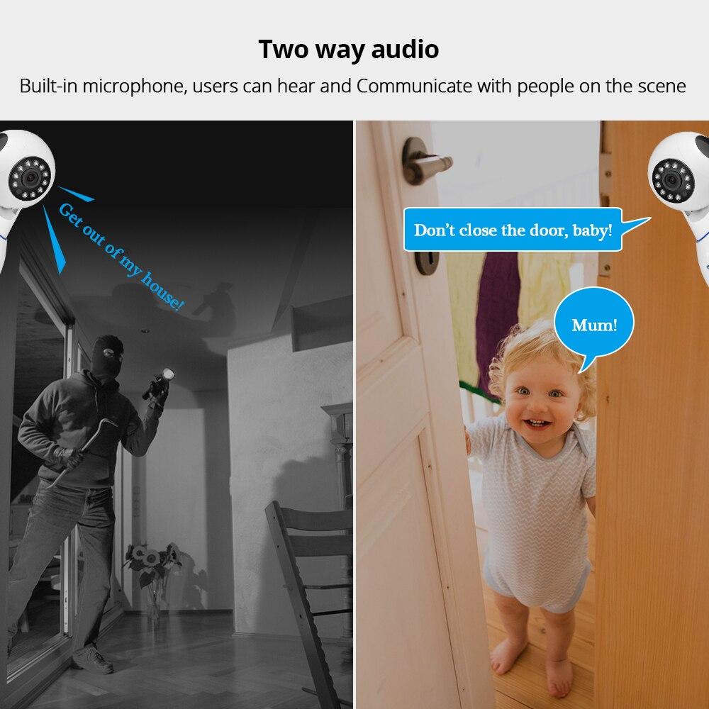 KERUI 720P 1080P HD Wifi Wireless Home Security IP Camera w/ IR Night Vision Baby Monitor 5