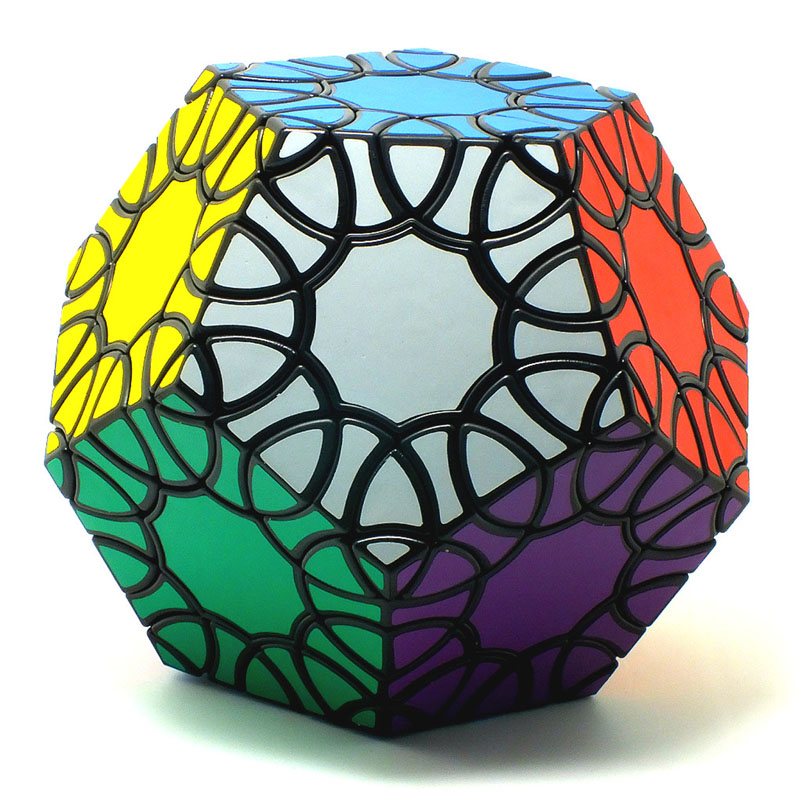 CubeStyle Verypuzzle Clover Dodecahedron Black Magic Cube Strange-shape Limited Edition Twisty Puzzle Educational Toys verrypuzzle clover dodecahedron magic cube speed twisty puzzle megaminx cubes game educational toys for kids children