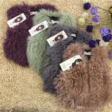 New Fashion Kids Girls New Collection Fur Fleece Waistcoat Girls Solid Color Outwears Pretty Girls Children