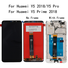 5.45For Huawei Y5 2018 Y5 Pro LCD Display Touch Screen Digitizer For Huawei Y5 Prime 2018 LCD With Frame DUA L02 L22 LX2 Screen quying laptop lcd screen compatible model lp121wx3 tla1 tla2 ltn121at06 g01 l02 h01 b121ew09 v 2 v 3 n121ib l06