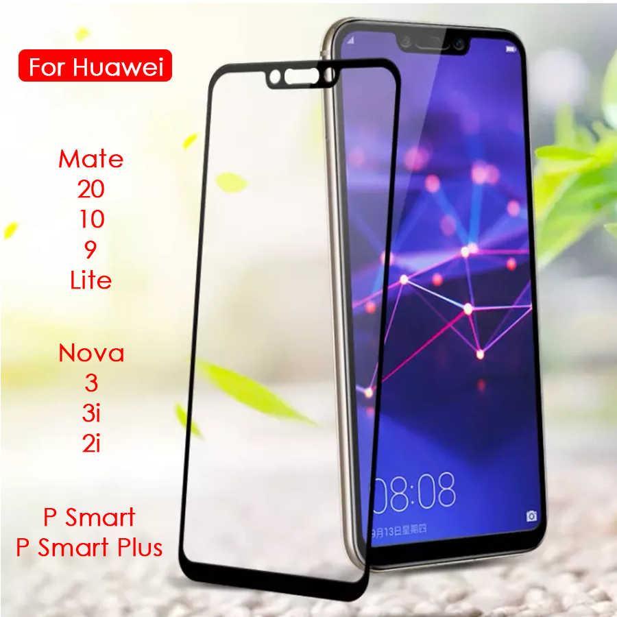 Bảo vệ Kính Cường Lực Cho Huawei Mate 20 10 9 Lite P Smart Plus Cường Lực Glam Ốp Lưng Trên Nova 3i 2i 3 2 tôi ChoSamsung