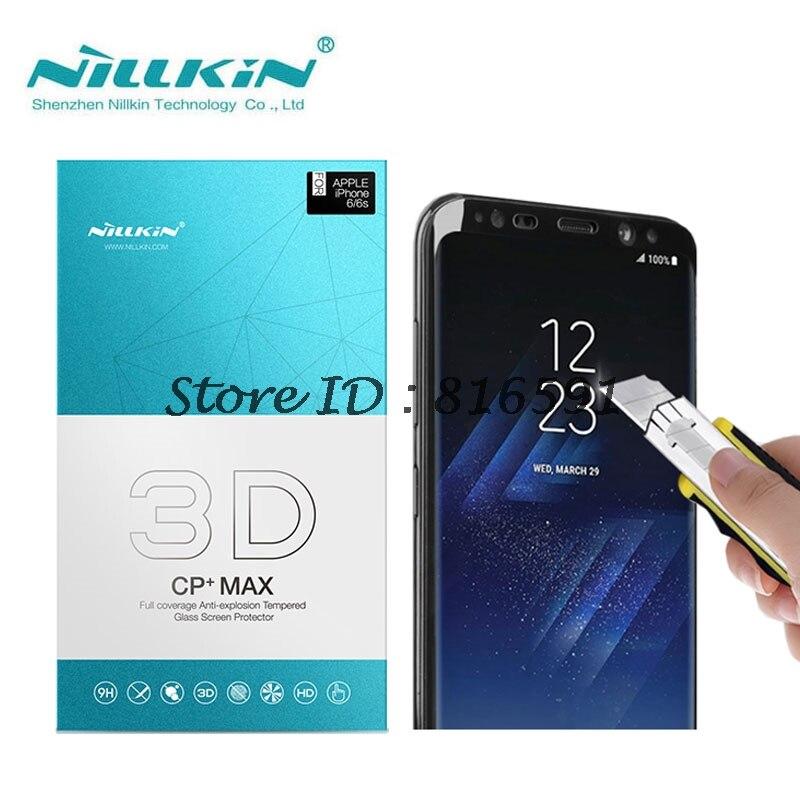 imágenes para Protector de pantalla para Samsung Galaxy S8 (5.8 pulgadas) Nillkin 3D CP + Max Protector de Vidrio Templado de Cine de la sfor Samsung Galaxy S8