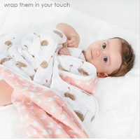 Six Layers 600g Newborn Muslin Baby Blanket 100 Cotton Swaddle Wrap Infant Blankets For Baby Swaddling