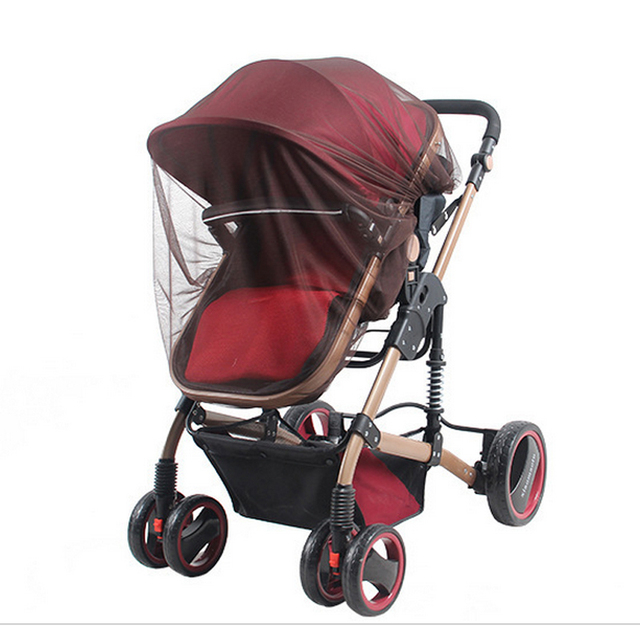 5 colors Baby Stroller Pushchair Cart Mosquito Insect Net Safe Mesh Buggy Crib Netting Baby Car Mosquito Net Outdoor protect