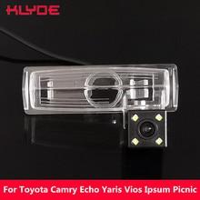KLYDE автомобиля CCD заднего вида ночное видение камера для Toyota Camry эхо Yaris Пикник салон Vios БЕЛТА SportsVan Avensis Verso