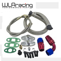 WLRING STORE-  Oil Feed Line Drain Fitting Flange Kit For Toyota Supra 1JZGTE 2JZGTE 1JZ/2JZ Single Turbo  WLR- TOL22