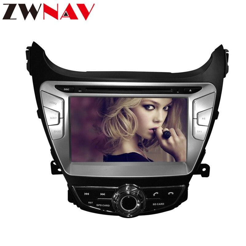 IPS Android 8 0 Car multimedia dvd radio player gps navi for Hyundai Elantra 2012 2013