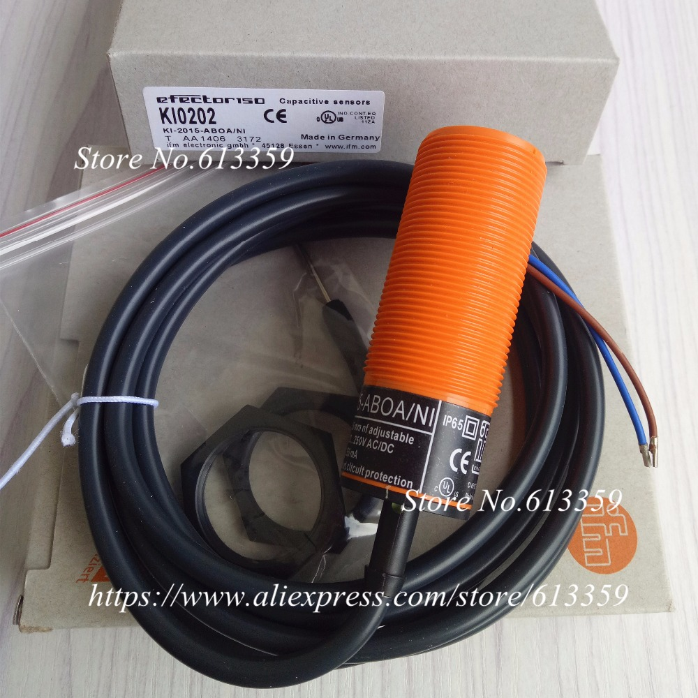 KI0202 M30 AC NO  Capacitive Proximity Switch Sensor New High Quality KI0202 M30 AC NO  Capacitive Proximity Switch Sensor New High Quality