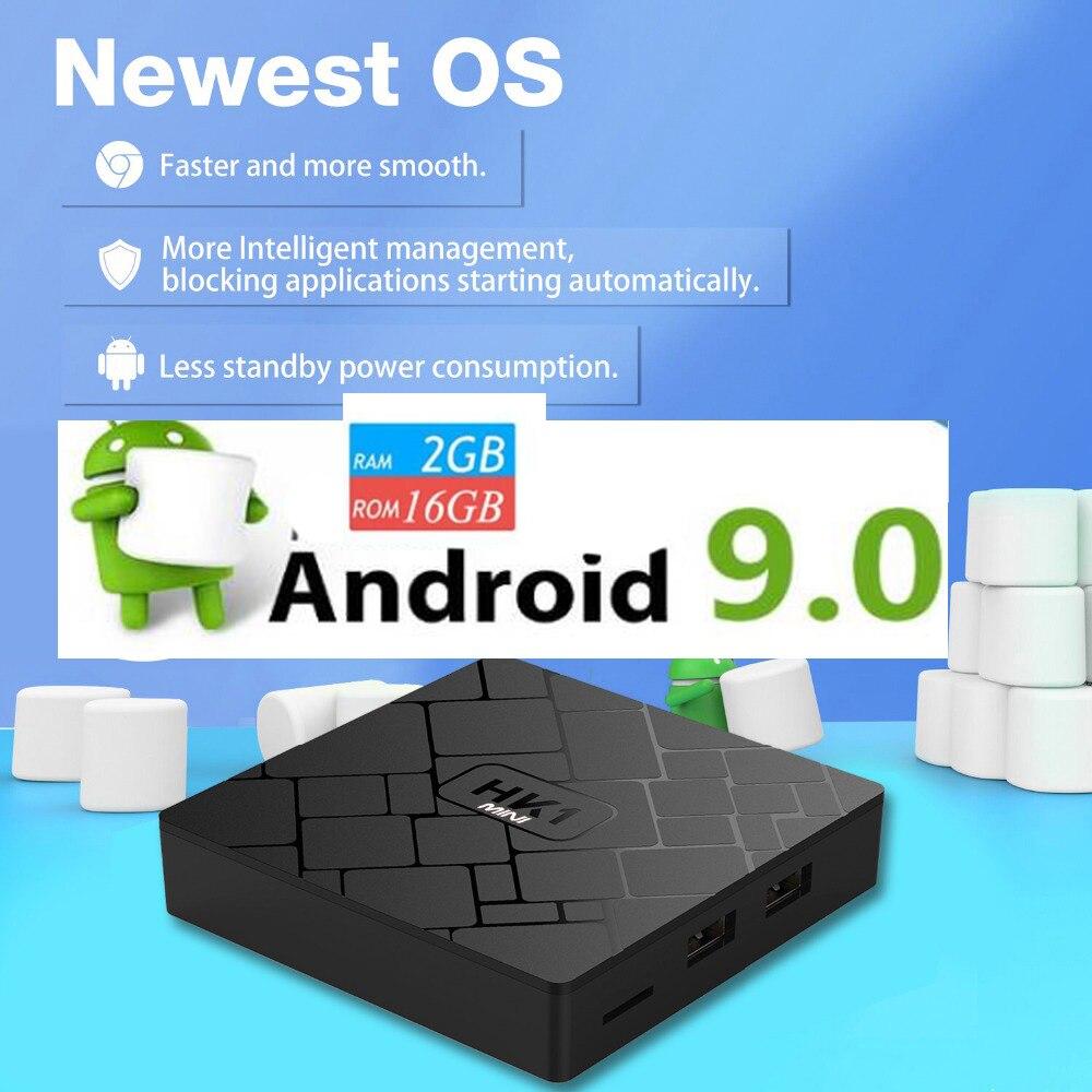 5pcs HK1 MINI Android 9 0 TV BOX vs x96 mini 5pcs tx6 mini Rockchip RK3229