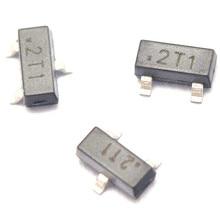 100 ШТ./ЛОТ Чип Транзистор S9012 2T1 0.5A/25 В PNP SOT23