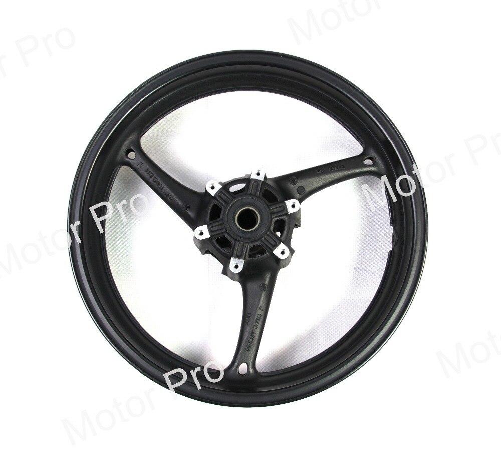 Переднее колесо обод для Suzuki gsx-r 600 2008 2009 2010 GSXR600 08 09 10 мотоцикл Запчасти ЧПУ Алюминий GSX R GSX-R 750 1000 черный