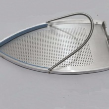 Детали электрического утюга алюминиевая нижняя доска Тефлон/PTFE железная крышка 230X123X6 мм STB-200