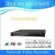 DAHUA 24Channel 1U 24PoE 4K&H.265 Pro Network Video Recorder Without Logo NVR5224-24P-4KS2