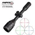 Охота Прицел Снайпера LT 3-9X50 AOL 1 дюймов полный Размеры тактический оптический прицел осветить Mil-точка блокировки сброс винтовка область