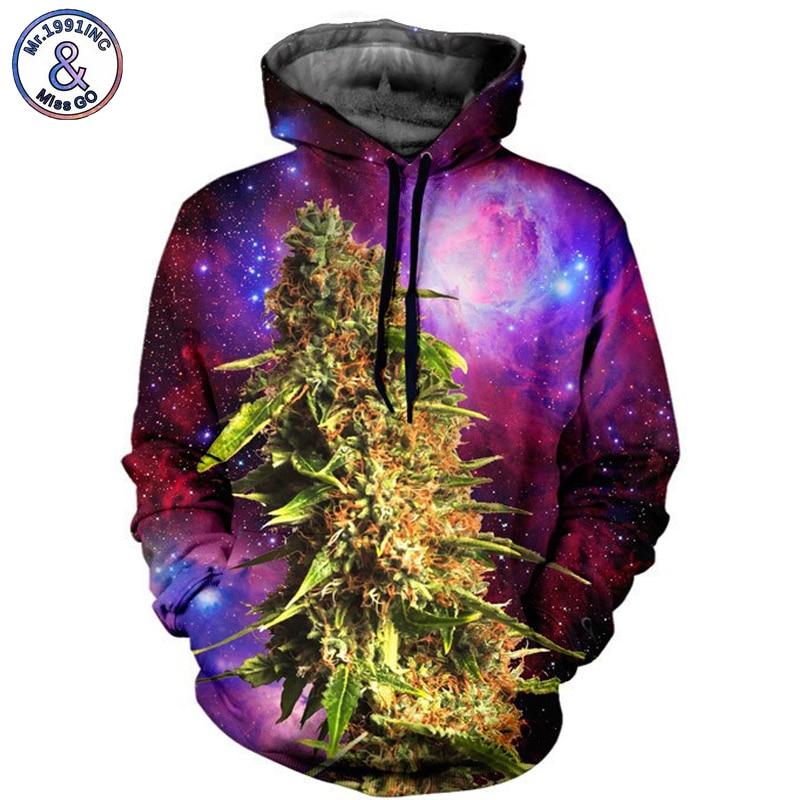 Mr.1991INC Europe America Hot Plant Star Sky Casual Sweatshirts Men Hooded Hoodies Pocket Men Pullovers hoodie Sweatshirt M032