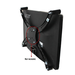 Image 5 - Loctek DA2 장착 어댑터 19 27 인치 장착 구멍 없음 모니터 홀더 마운트 VESA 연장 어댑터