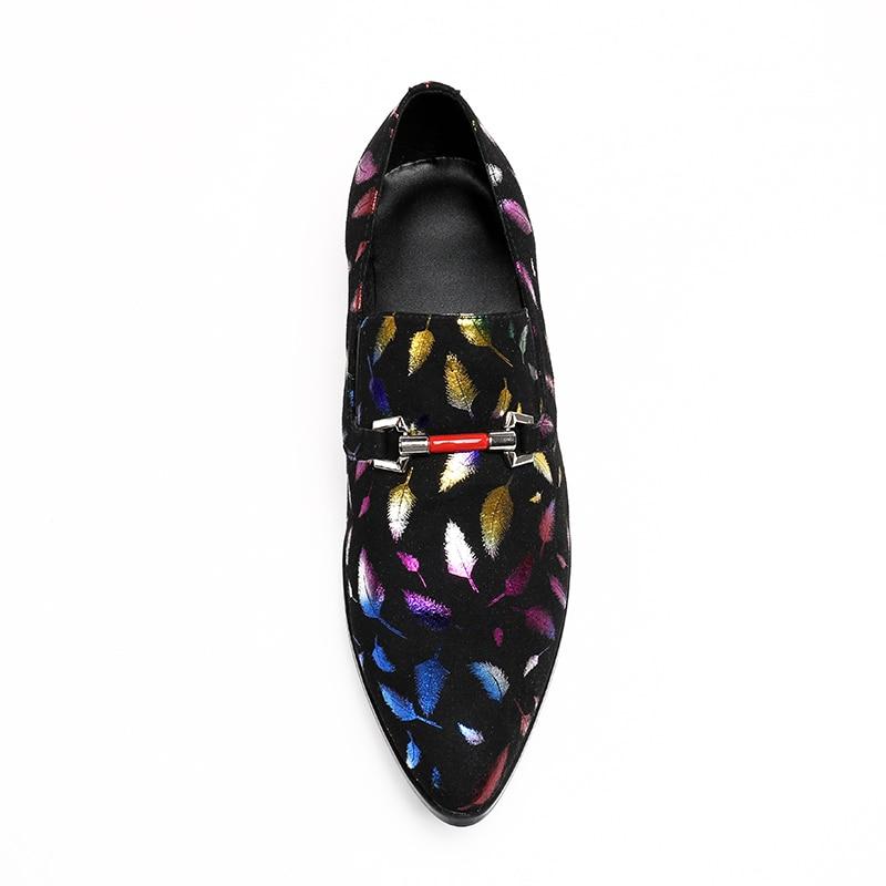 Negro Hombres Boda Del De Negocio Genuino Los Bella Pie Moda Señaló Dedo Lujo Zapatos Cuero Christia La xWn5FT4vaa