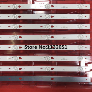 Image 5 - 1 set = 8 stück für TCL B48A558U D48A810 streifen TOT 48D2700 8X5 3030C V3 YHA 4C LB4805 YHEX2 TCL D48A810