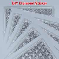 Diamond Painting Full Round Diamond Mosaic 29x29 Blank Transparent Diamond Sticker Pixel Art Hobby & Crafts Diamond Embroidery
