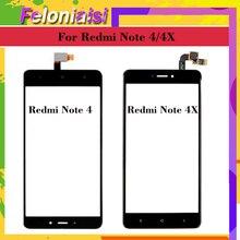 10Pcs/lot Original For Xiaomi Redmi Note 4 Touch Screen Digitizer 4X Panel Sensor Front Glass Touchscreen