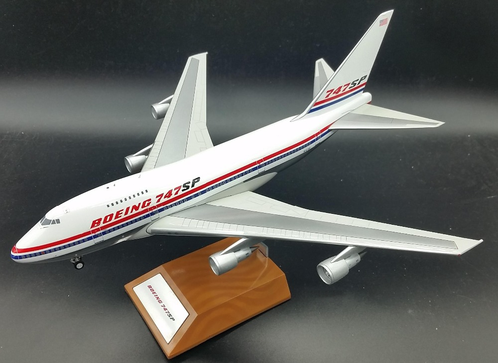 1: 200 747SP prototype model N747SP airplane model Limited Collector's Edition