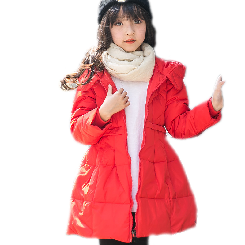 children winter coat 2018 new kids winter parka coat long section solid girl winter coat white duck down kids coats girls winter a15 girls jackets winter 2017 long warm duck down jacket for girl children outerwear jacket coats big girl clothes 10 12 14 year