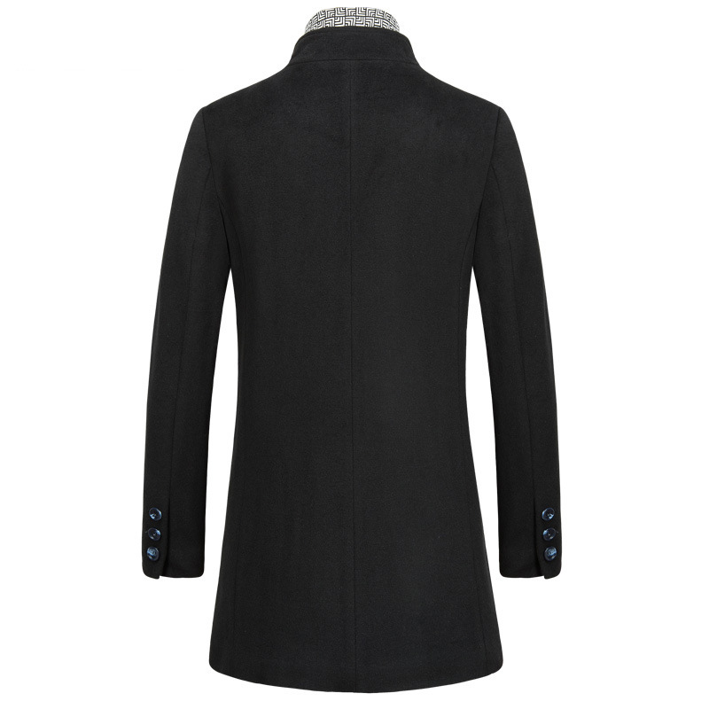 Aliexpress.com : Buy Warm Wool Coats Men's Winter Wool Jackets And ...