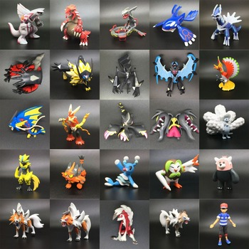 6-10cm 26 Different Styles  Anime Character Gengar Kyogre and Groudon pkm Action Figure Toys Kids Gifts  Model Decoration action figure pokemon