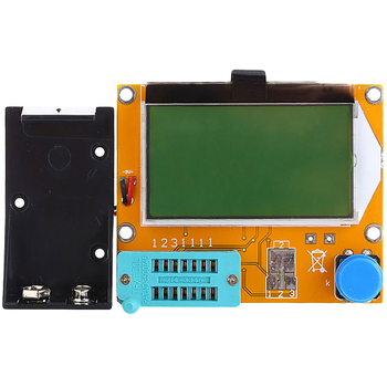 ESR Meter Transistor Tester Digital LCR Mega328 V2.68 ESR-T4 Diode Triode Capacitance MOS/PNP/NPN LCR 12864 LCD Screen Tester