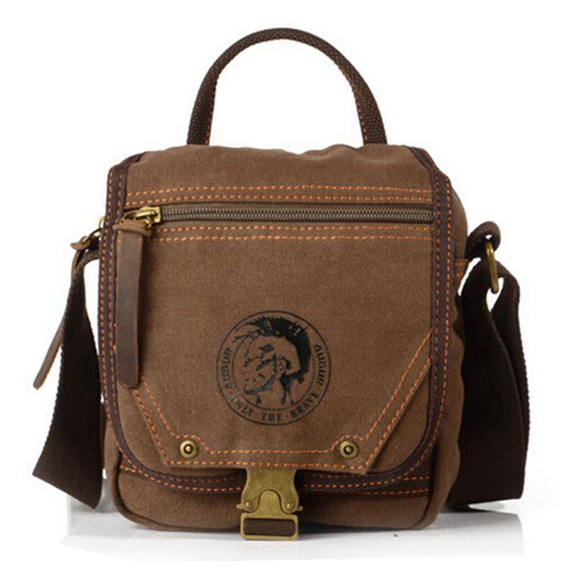 New arrival High Quality Vintage Should Bags for Men Mini Handbag Crossbody Bag for Man  ...