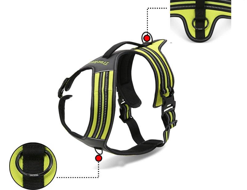 MySudui Truelove No Pull Dog Harness Dog Pet Harness Vest Large Small Harness Vest Adjustable Safety Walking Harness For Dog (12)