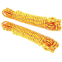 High Quality Brand New 11mmX20m Braided Rope Cord Outdoor Climbing Emergency Survival Nylon Mountaineering Paracord