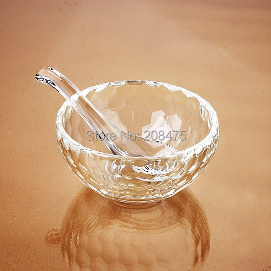 free shipping crystal dinnerware set crystal caster for salt sauce chinese folk style crystal craft