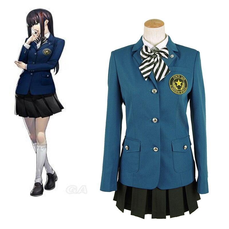 Cosplaydiy Custom Made Persona 5 Hifumi Togu Cosplay Costume High School Uniforms Suit Girls School Costume L320