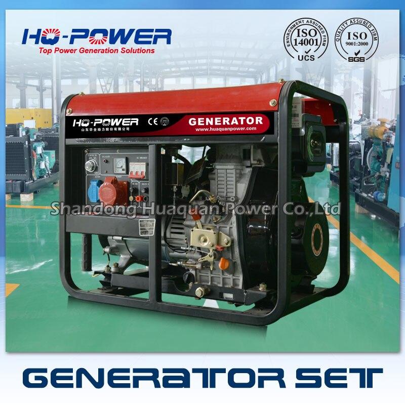 Бензиновый генератор 7